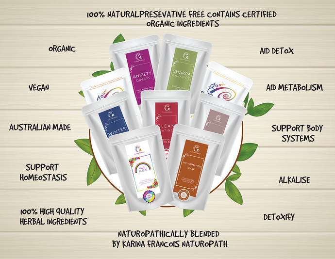 Mix & Match 28g sample packs (3 Tea Blends with a free infuser subject to availability)