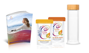 105-Day Detox Package- Peri-Menopause and Menopause Holistic Programme 250g bags