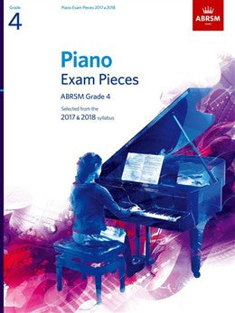 ABRSM Piano Exam Pieces '17-'18Grade4