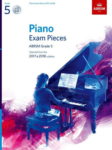 ABRSM Piano Exams 17-18 with CD G5