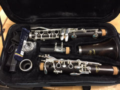 Andino Clarinet Bb Grenadilla Wood