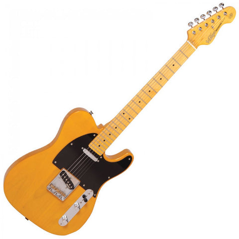 Vintage Electric Guitar V52 Re-issued Butterscotch