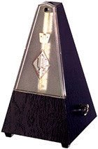 Wittner Metronome. Plastic. Black. With Bell