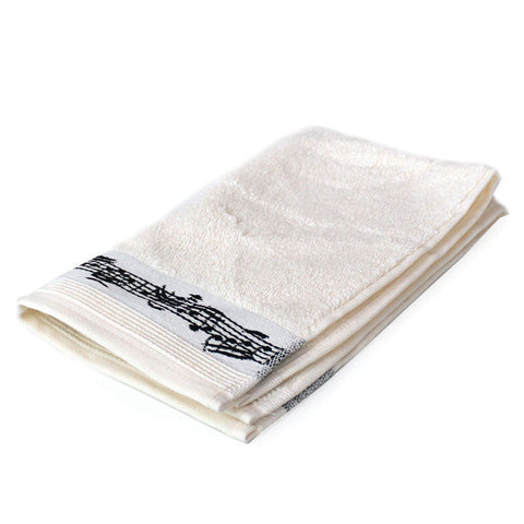 Guest Towel with Musical notation
