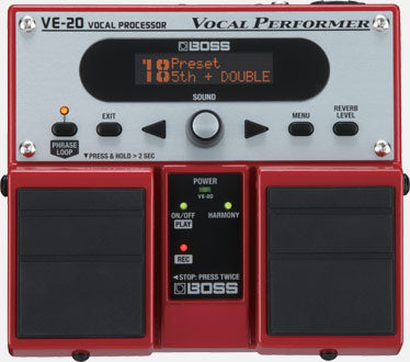 Boss Vocal Processor VE-20