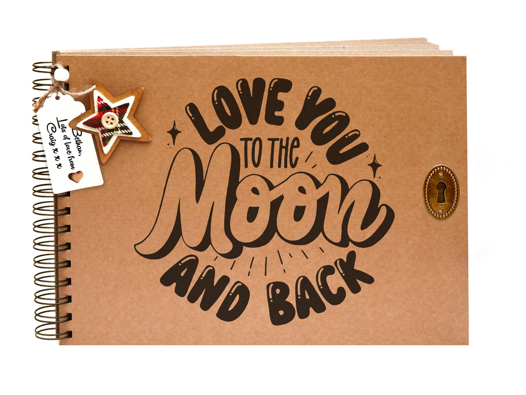 Moon and Back Scrapbook Companion Gift Idea