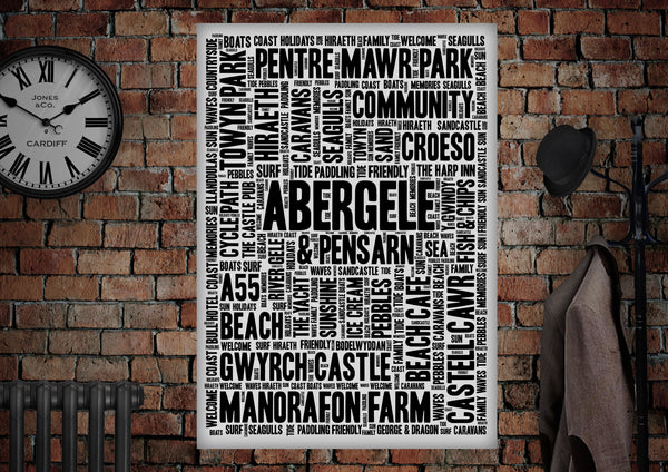 Abergele Pensarn Poster - Made by Craig