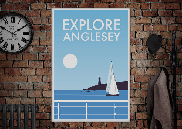 Explore Anglesey Poster - Made by Craig