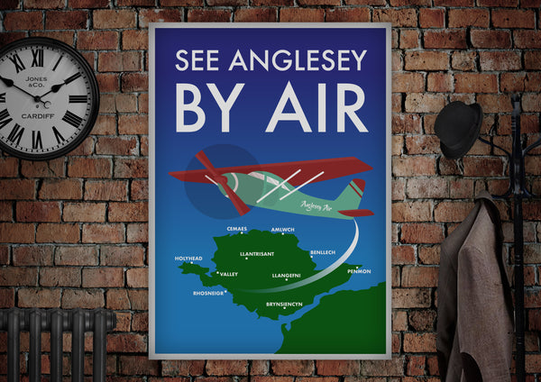 Anglesey Airport Poster - Made by Craig