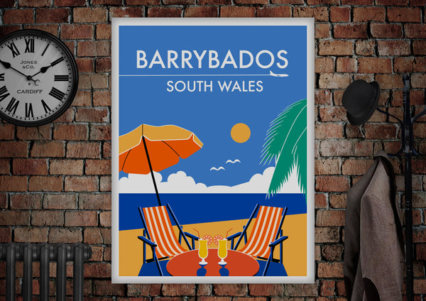 Barrybados Poster - Made by Craig