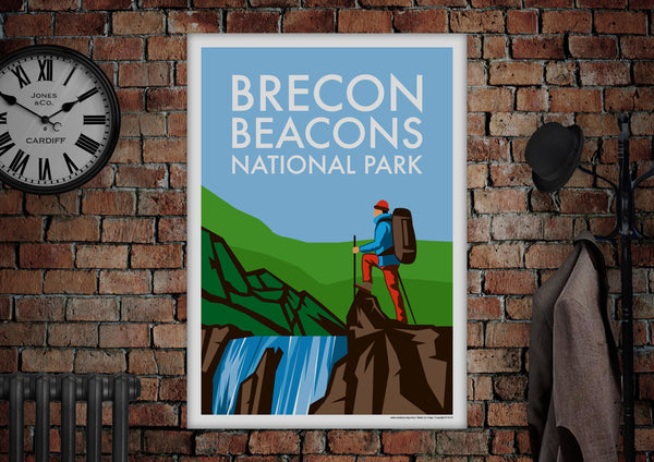 Brecon Beacons National Park Poster