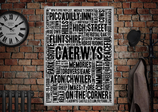 Caerwys Poster - Made by Craig