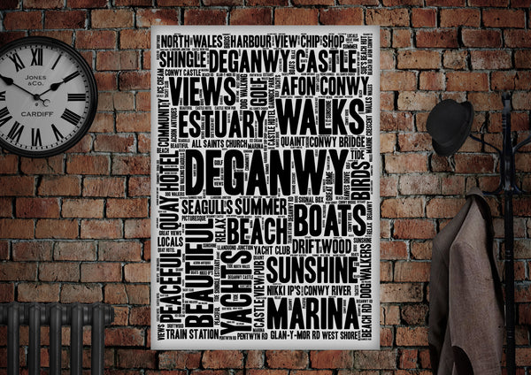 Deganwy Poster Print - Made by Craig