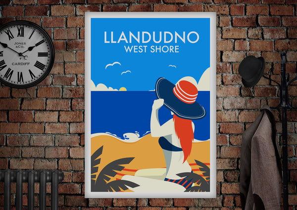 Llandudno West Shore Poster - Made by Craig