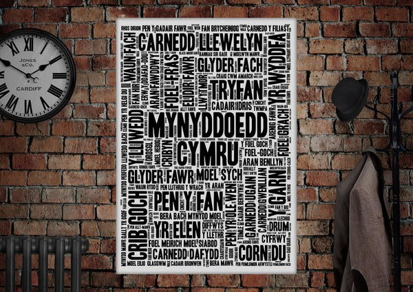 Welsh Mountains Poster - Made by Craig