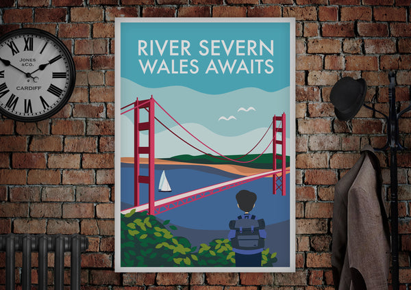 River Severn Wales Poster - Made by Craig