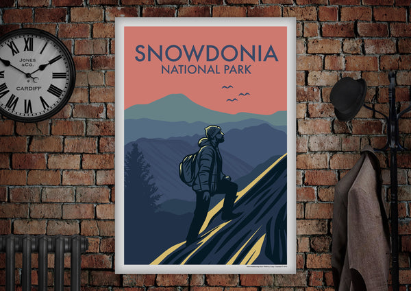 SNOWDONIA National Park Poster