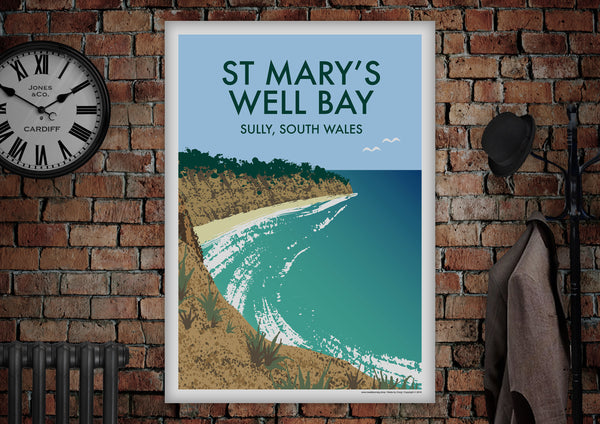 St Mary's Well Bay Poster - Made by Craig