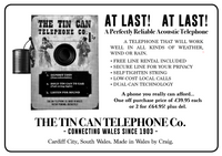 Tin Can Telephone Advert