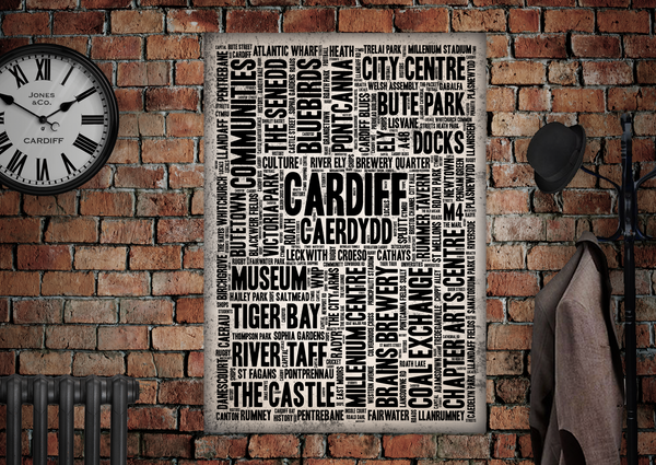 Cardiff City Poster