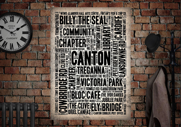 Canton Community Poster