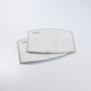 3 Pack - Handmade Protective PM 2.5 mask + filters(10)