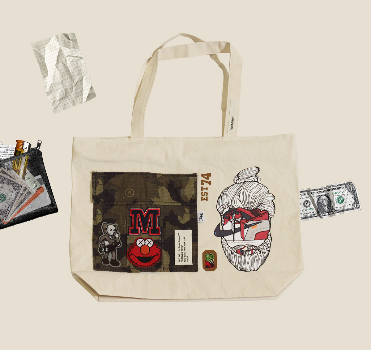Extra-Large Tote - art 004