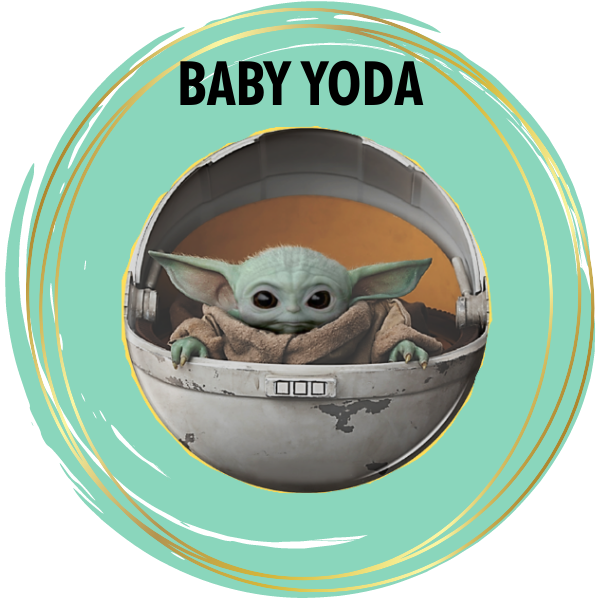 Baby Yoda Diamond Painting Kits