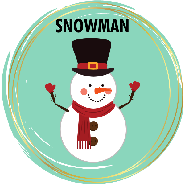 Snowman Diamond Painting Kits