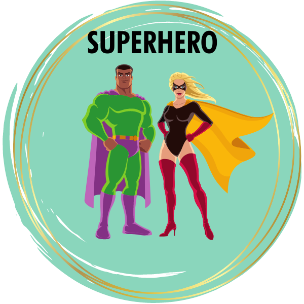 Superhero Diamond Painting Kits