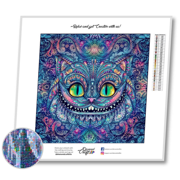Cheshire Cat in Pattern