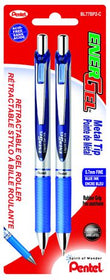 Energel Retractable Roller Pen - Blue