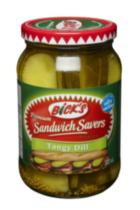 Bick's Sandwich Savers Tangy Dill Pickles
