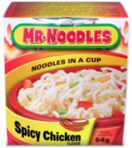Mr. Noodles Spicy Chicken Cup