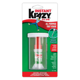 Instant Krazy All Purpose Brush Glue
