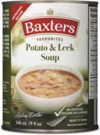 Baxters Favourites Potato and leek soup, 540 ml