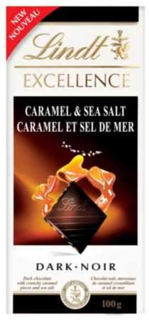 Lindt Excellence Caramel & Sea Salt