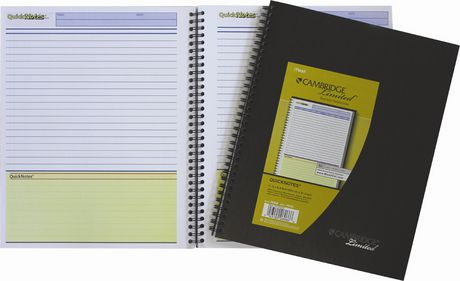 Business Notebook- QuicknotesPlanner
