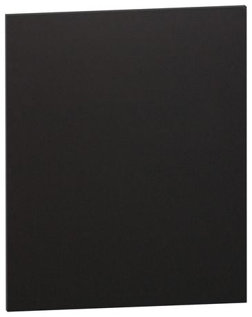 Black-On-Black Foam Board