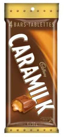 Cadbury Caramilk Chocolate Bars
