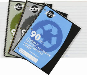 1 Subject Recycled Notebook