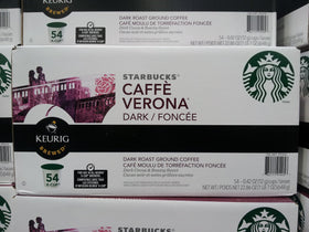 Starbucks - Coffee Verona - K-Cups (54 cups)