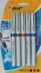 Assorted Grip Roller Pens