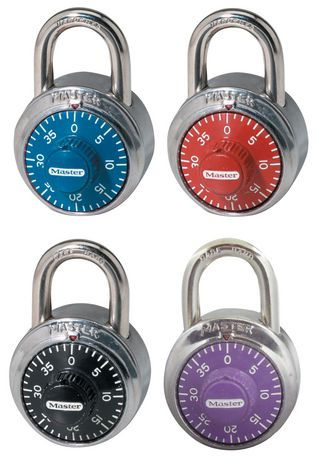 Colour dial Comb Lock