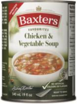 Baxters Favourites Chicken & Vegetable Soup