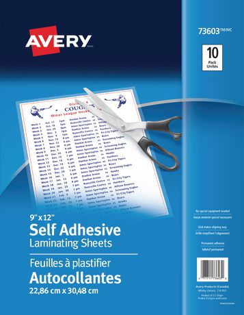 Self Adhesive Laminating Sheets