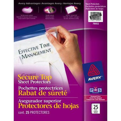 Diamond Clear Secure Top Sheet Protectors