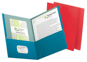 Earthwise 100% Recycled Twin Pocket Portfolios