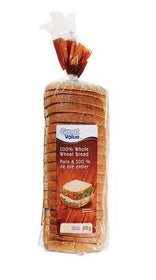 Great Value 100% Whole Wheat Bread