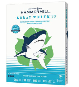 Great White 30 Recycled Paper